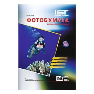 фотобумага матовая IST 10*15 220гр/м. 500л.