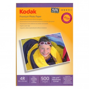 фотобумага Kodak 10*15 230гр/м 500л.