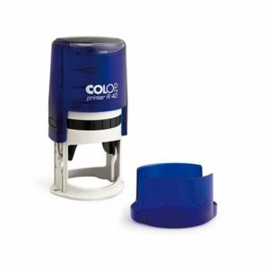 Оснастка автоматическая cиняя Colop R=40
