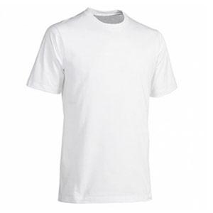 """футболка """"Evolution"""" мужская, белая, полиэстер/хлопок, 42(2XS)"""