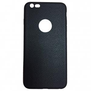 Iphone 6 плюс кожаный черный