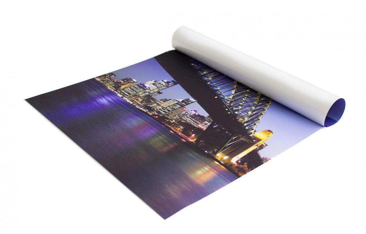 Печать постера на фотобумаге